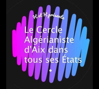Assemblée générale du Cercle Algérianiste d'Aix-en-Provence