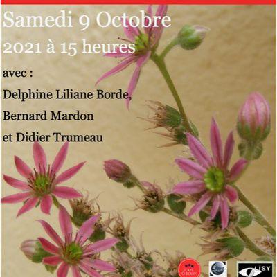 Nos ursidés Delphine Liliane Bordes, Didier Trumeau, Bernard Mardon et Pierre-Louis Jamet à Vierzon le 9 octobre