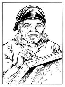 La page technique d'Oncle Fumetti… Le roman graphique.