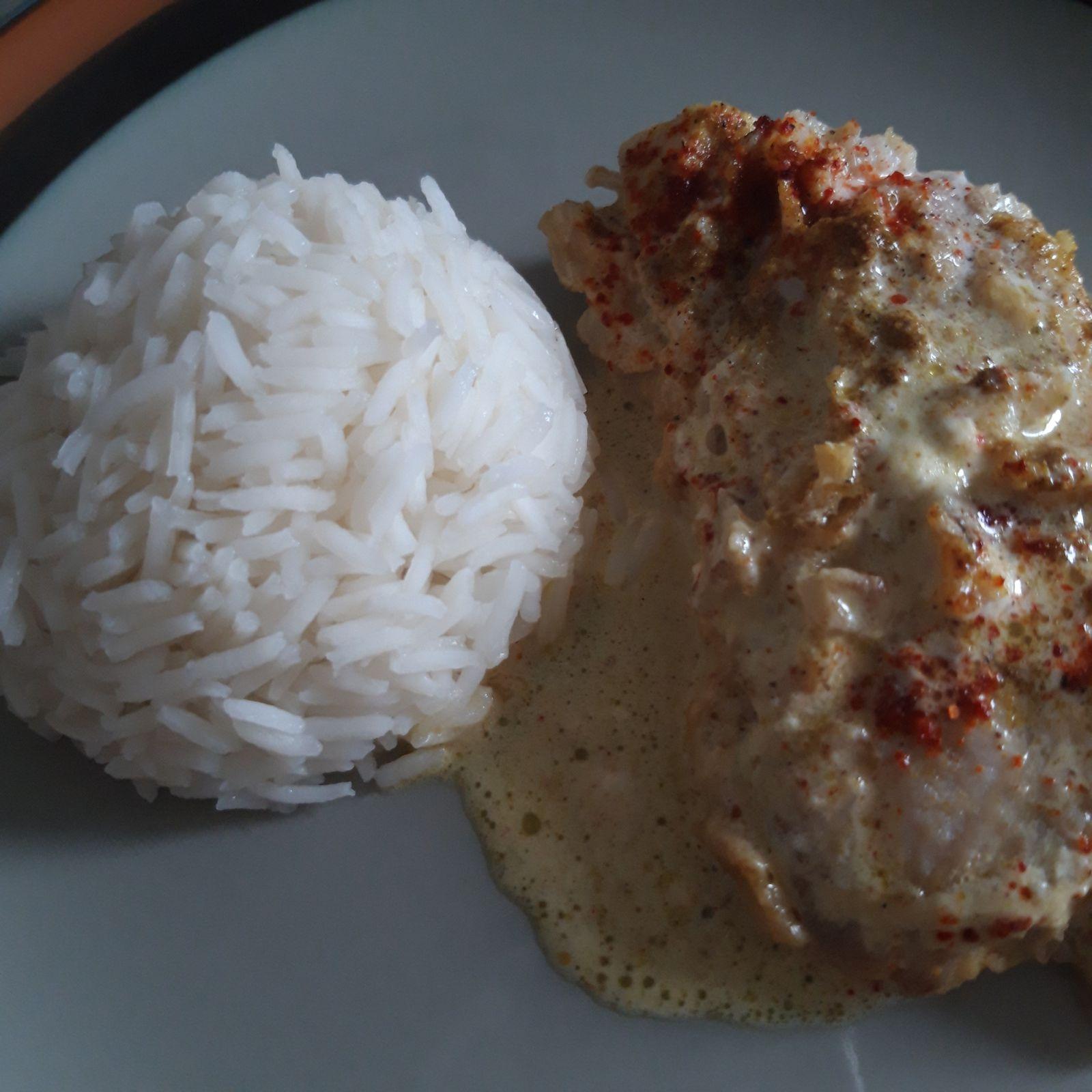 Lieu noir au curry
