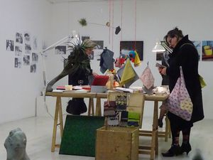 LEON !!! quelques images de notre boutique artistique de Noël