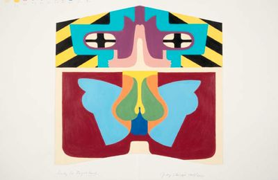Study For Flight Hood @ Judy Chicago. 1965-2011