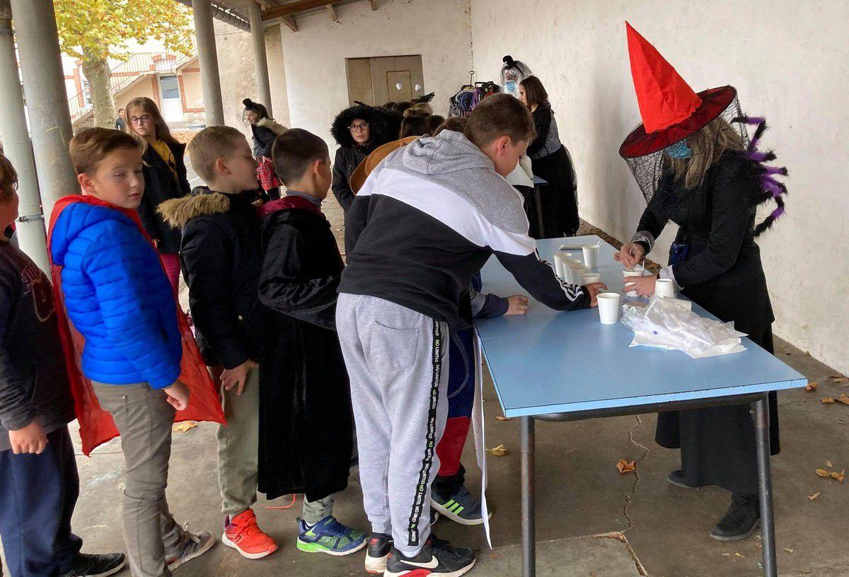 ME Albertarié : Kermesse d'Halloween