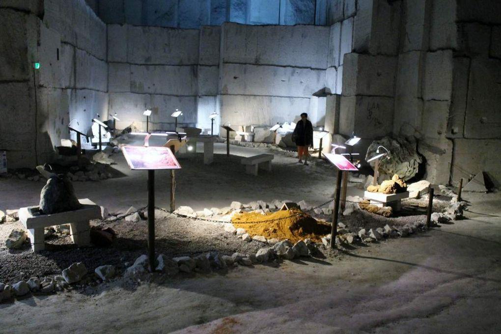 Une cathédrale à l'envers : la carrière souterraine d'Aubigny