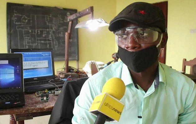 Un jeune congolais met au point un fer à repasser rechargeable