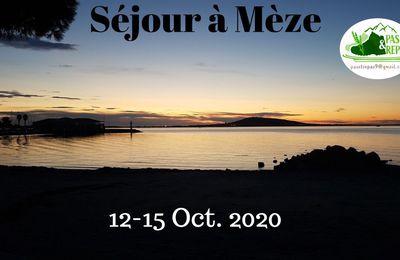 Séjour à MEZE (34) Octobre 2020 1/2