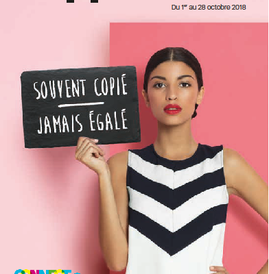 Catalogue promo Octobre 2018
