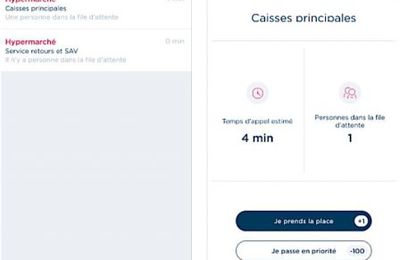 Une application pour minimiser son temps d'attente...