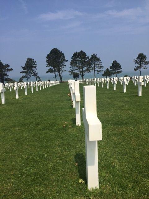 Colleville et le cimetière Américain