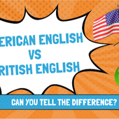British English and American English by LACOUR on Genially