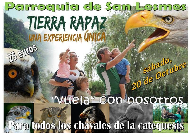 Excursión a Tierra Rapaz
