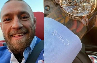 Conor Mcgregor montre sa montre à 1 million de dollars (photos / vidéo)