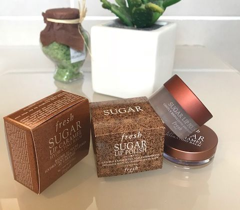 Le Sugar Caramel Hydrating Lip Balm et le Sugar Lip Polish de FRESH