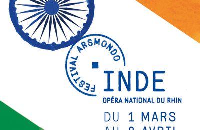 Festival ARSMONDO 2020 - Inde - Opéra National du Rhin - Du 1er mars au 8 avril 2020 à Strasbourg