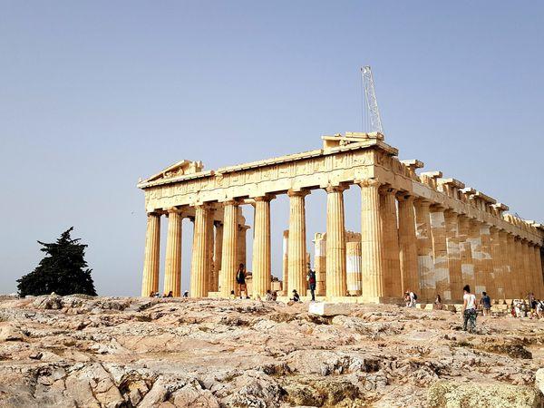 Les monuments de l'Acropole