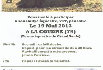 Rando à La Coudre (79) dimanche 19 mai 2013