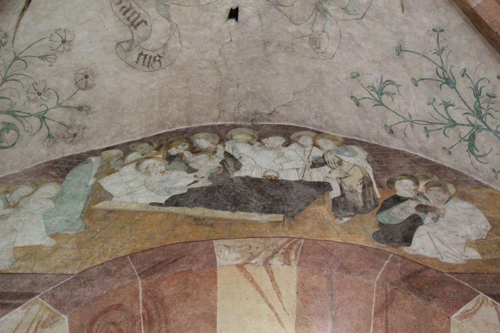 Baldenheim , église protestante sur la Route Romane