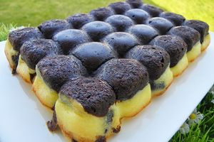 BROWNIES CHEESECAKE (thermomix)