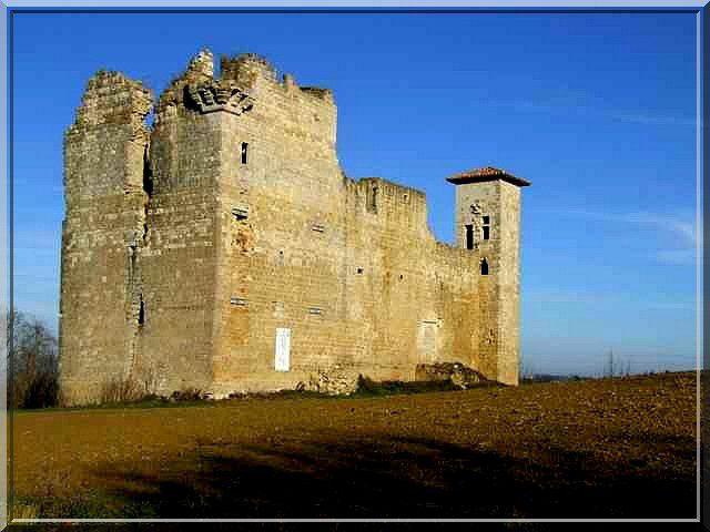 Diaporama château de Lagardère