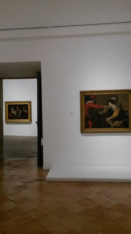 Vues de l'exposition, Académie de France à Rome - Villa Médicis © photographies Le curieux des arts Antoine Prodhomme, novembre 2014