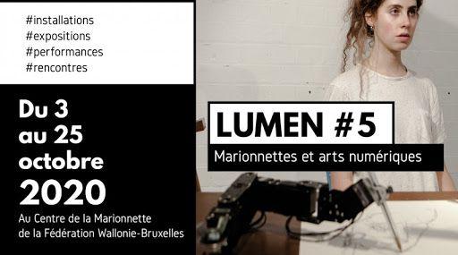 LUMEN #5 Marionnettes & arts numériques