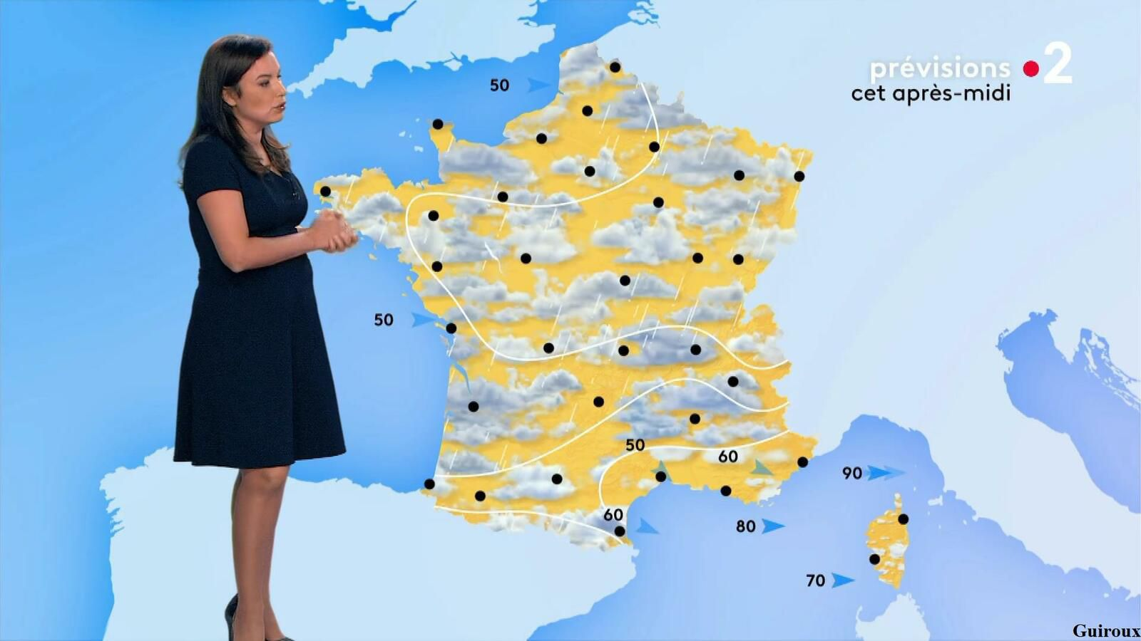 Anaïs Baydemir 01/08/2021 Journal météo du midi