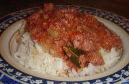 Corned beef au riz