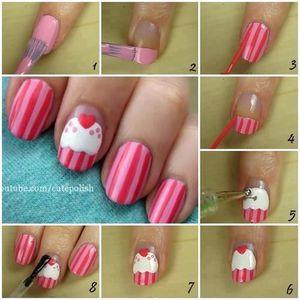 Diy nail art pour les gourmandes ! :)