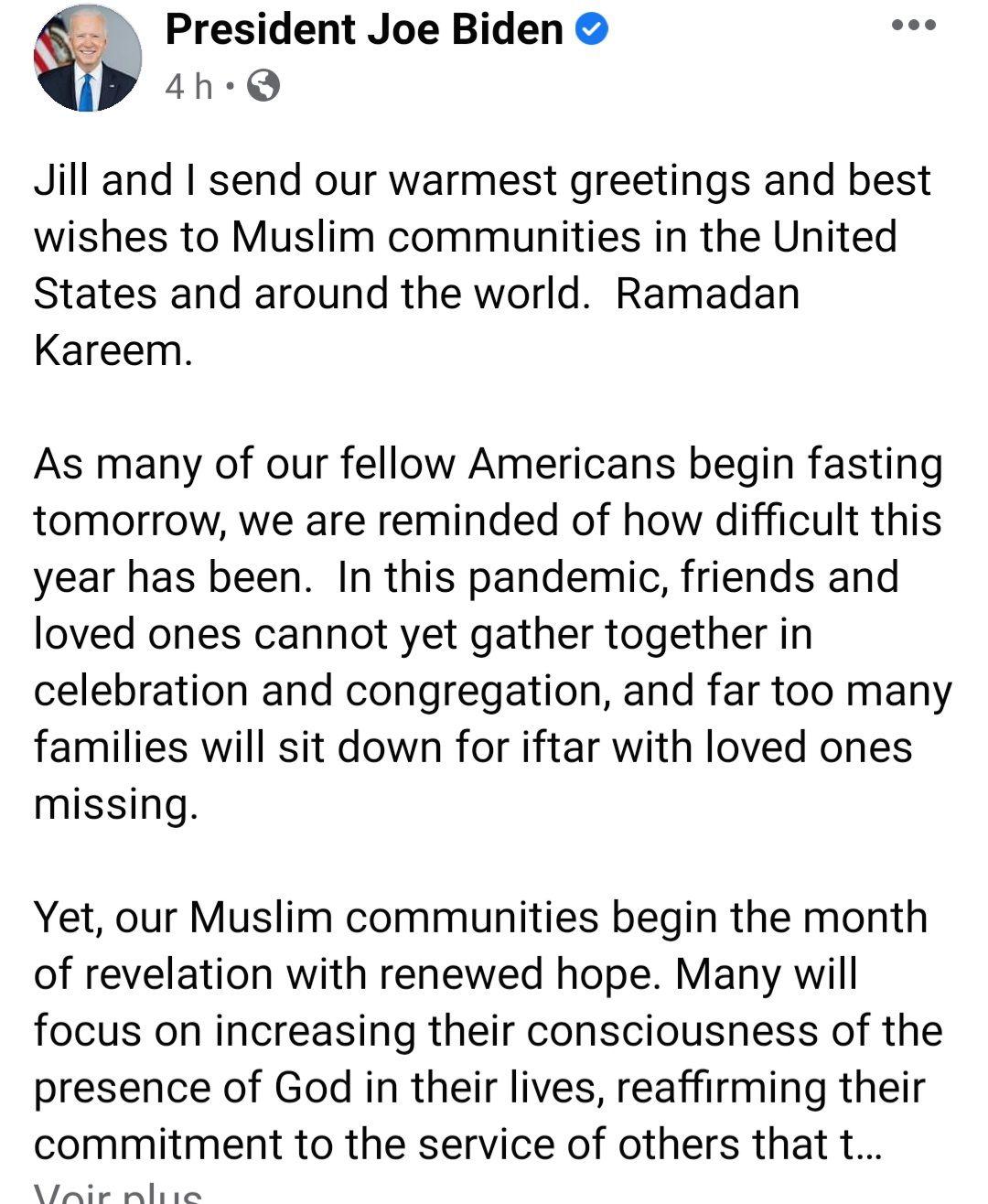 «Le Ramadan en France et aucun message des autorités gouvernementales. Toujours ce silence méprisant» par Amadou Bal BA - http://baamadou.over-blog.fr/