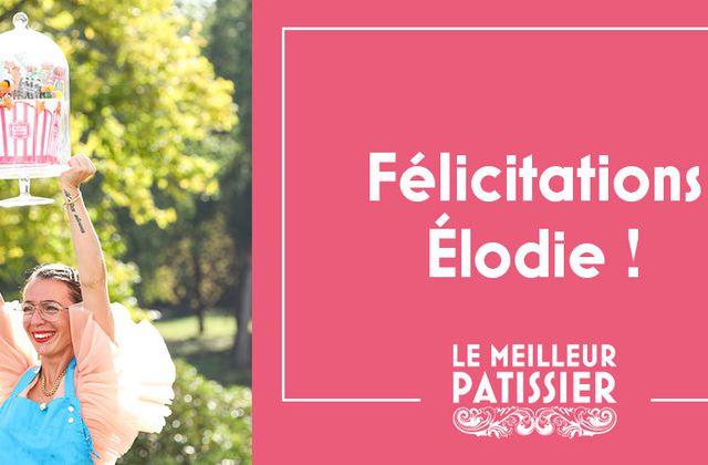 Excellent bilan d'audience pour cette saison du Meilleur pâtissier remportée par Élodie.