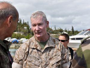 FANC : Visite des Marine Corps Forces Pacific à Nouméa