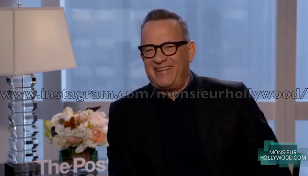 Le comédien Tom Hanks évoque Johnny Hallyday