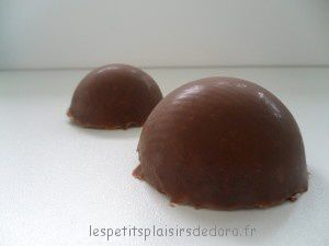 DEMIE SHPERE CHOCOLAT MOUSSE SPECULOOS
