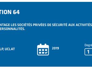 Rapport sur le continuum de la sécurité 2018 : Bien moins visionnaire qu'un rapport de 2016 pour la sécurité privée ...