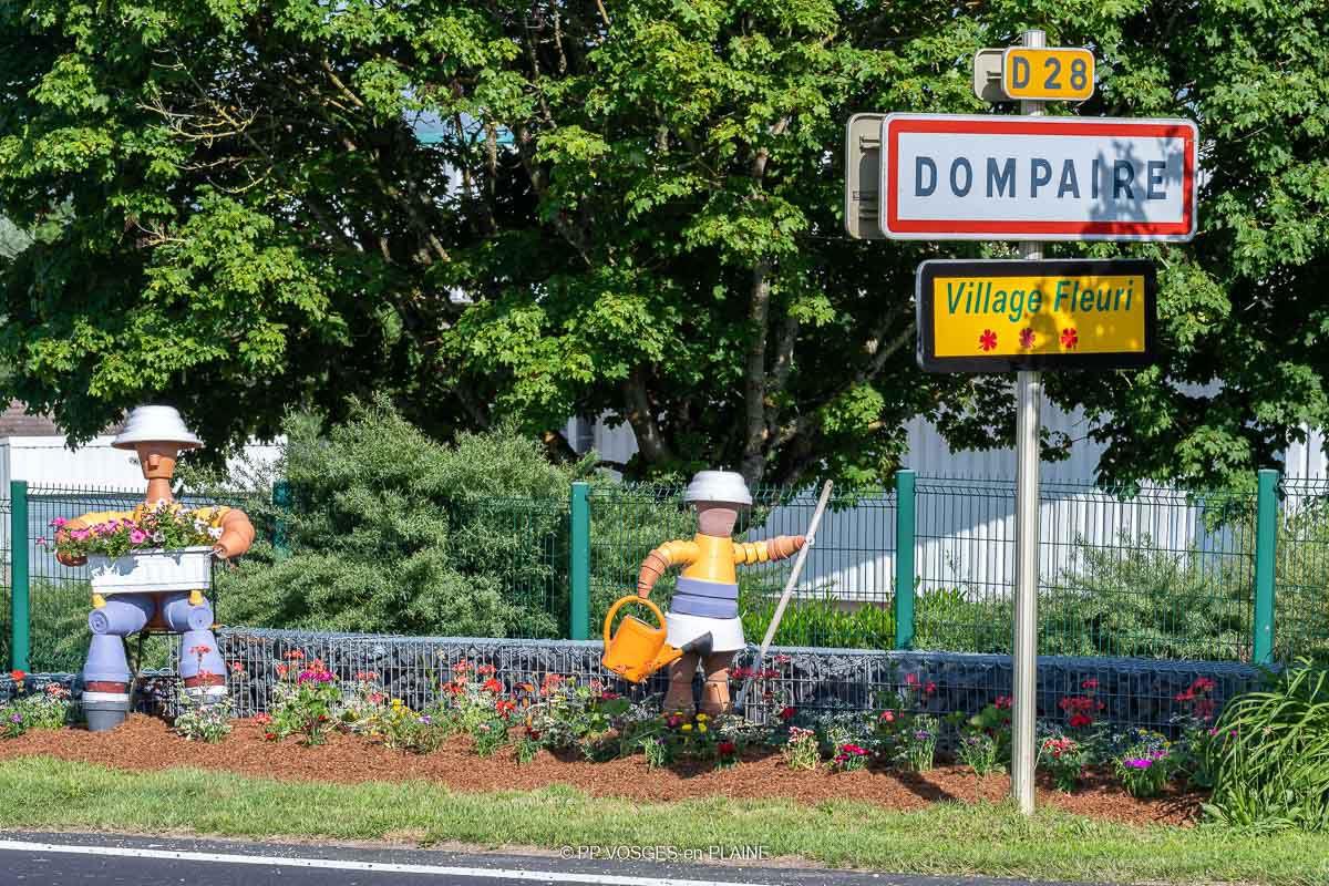 DOMPAIRE Village Fleuri - Année 2021