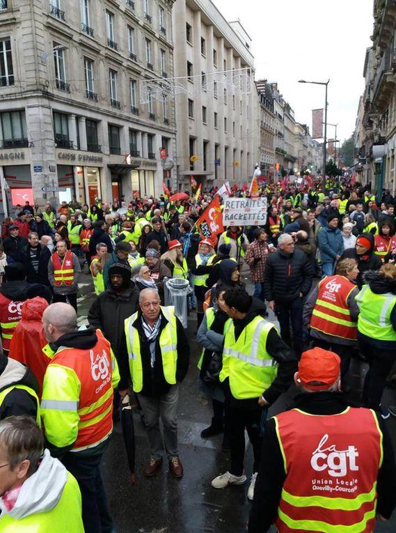 Plusieurs dizaines de milliers de manifestants avec la CGT samedi dans tout le pays !