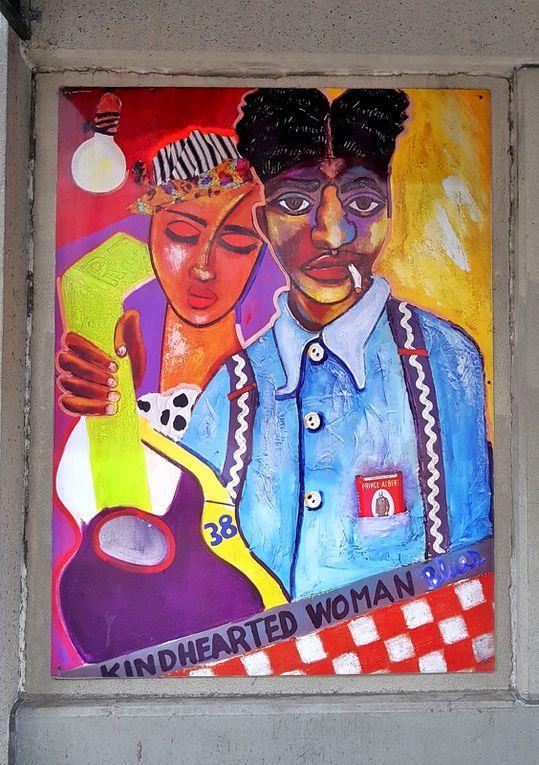 Diaporama : Memphis, street-art