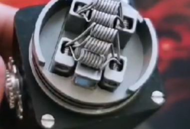 Live vape - Vaper sur un montage avec 6 coils