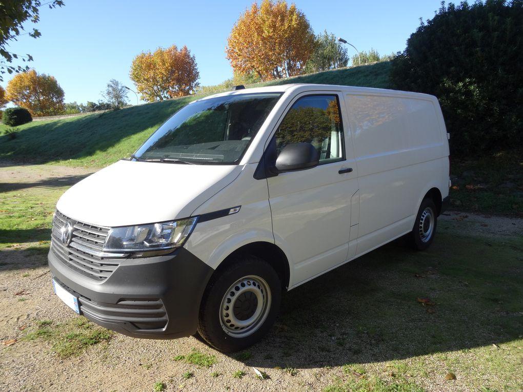 Notre nouveau van qu'on va aménager .... pour les prochains week-ends VTT-a-2 / VW Transporteur 6.1
