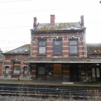 gare de Franière -Belgique