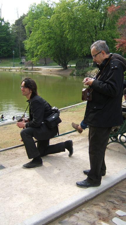 Sortie Photographique de Prises de vues au Moyen Format. Parc Montsouris Paris 14ème Samedi 12 Avril 2014. Merci à Corinne et Jean pour le reportage