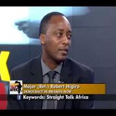 Straight Talk Africa Guest Major Robert Higiro on Rwanda Presidntial Term Limits