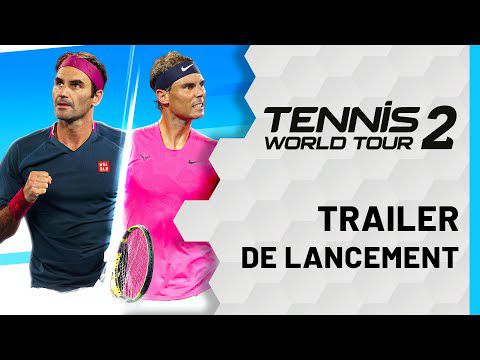 [ACTUALITE] TENNIS WORLD TOUR 2 - MAINTENANT DISPONIBLE