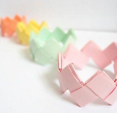 DIY Bracelet Origami ~