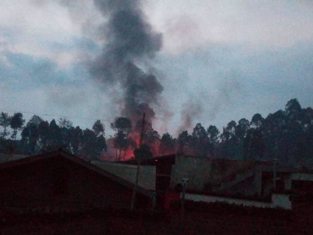 Incendies des centres de traitement d'Ébola à Butembo, Katwa, etc.