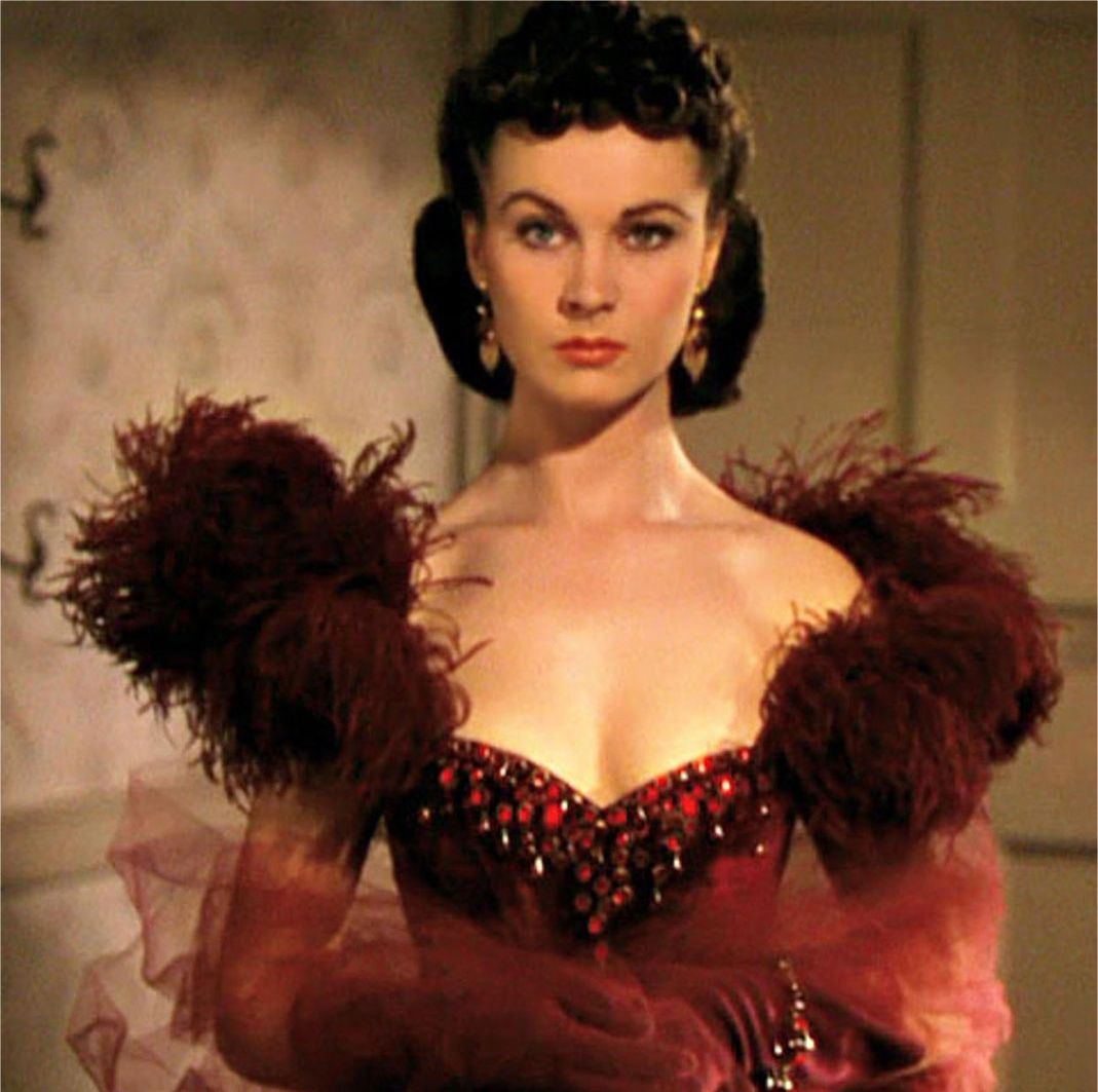 Scarlett O'Hara, Gone with the Wind (source archive pl / Alamy stock photo
