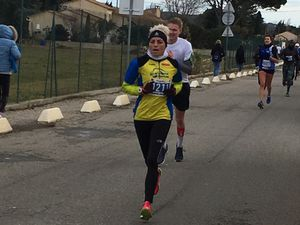 10KMS DE SALON DE PROVENCE...2 QUALIFIES..