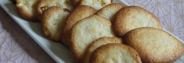 Biscuits à la crème fraîche et aux pommes