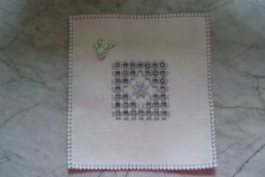 Mes encours - n°8 - Broderie mains