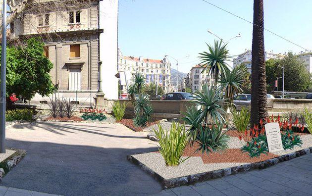 Jardin Rue Robert Thivin / Nice (06)